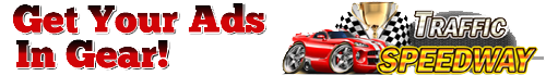 Get Your Ads in Gear with TrafficSpeedway's Logo image